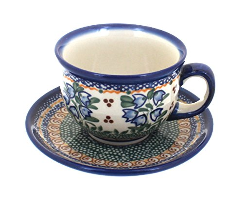 Polish Pottery Bluebell Cup & ()