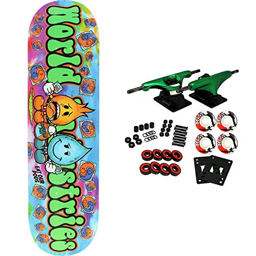 Complete Skateboards Industries World - World Industries Skateboard Complete Pods 8.25