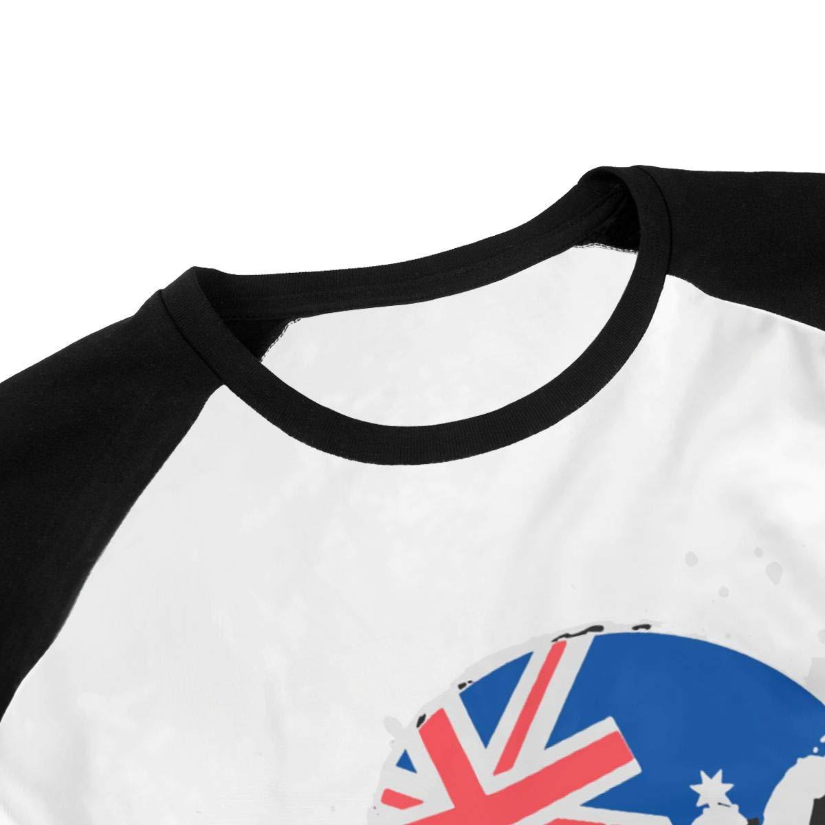 Teens Boys Girls Lazar-Beam Sleeve T-Shirt Fashion Youth Shirt