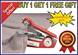 Mini Hand Sewing Machine - Design , Packiging , Colour , May Vary From Illustrations ( Buy 1 Get 1 Free Surprises Gift - Offer Limited )
