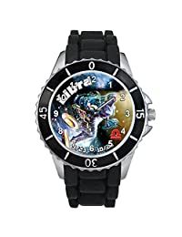 Libra Zodiac Unisex design watch with silicone band
