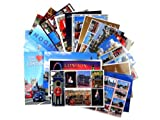 London Postcards - A Selection of Approximately 20 London Postcards with Various Views of Popular Landmarks and Icons