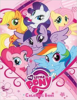 Amazon.com: My Little Pony Coloring Book: Coloring Book for ...