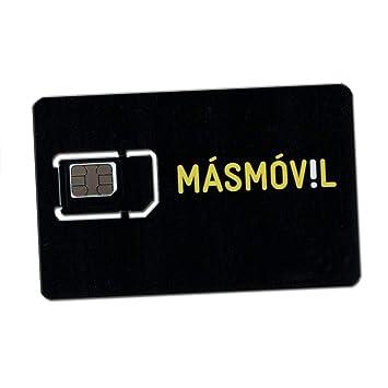 Mit Tarjeta SIM PREPAGO DE MASMÓVIL - Incluye 10 (descuenta Tarifa elegida) - Incluye Internet móvil 4G - Requiere el envío de DNI, NIE o Pasaporte