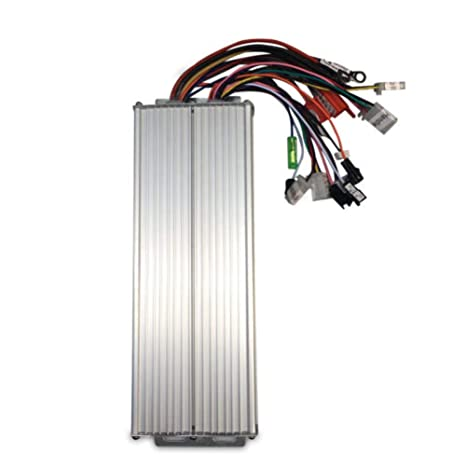 DOMINTY 48-72V 1500W Electric Bicycle Brushless Speed Motor Controller for  Electric Scooter e-Bike ATV Go Kart Tricycle Moped