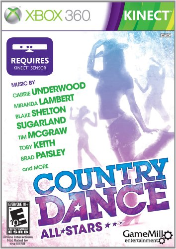 Country Dance Kinect - Xbox 360 (Best Family Kinect Games)