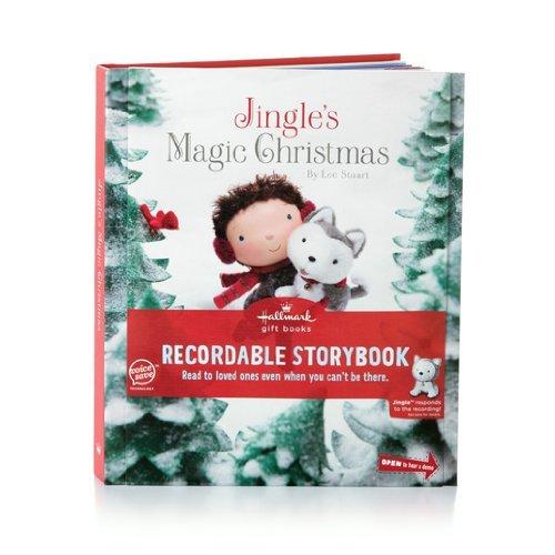 KOB9908 Jingle's Magic Christmas Interactive Recordable Storybook Special Hallmark Edition Hard Cover Book (Hallmark Gift Books Recordable Storybook)