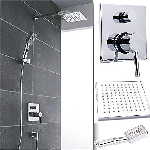 w68 regendusche komplett set regenbrause unterputz tropenschauer dusch armatur - Dusche Unterputz Armatur Hohe