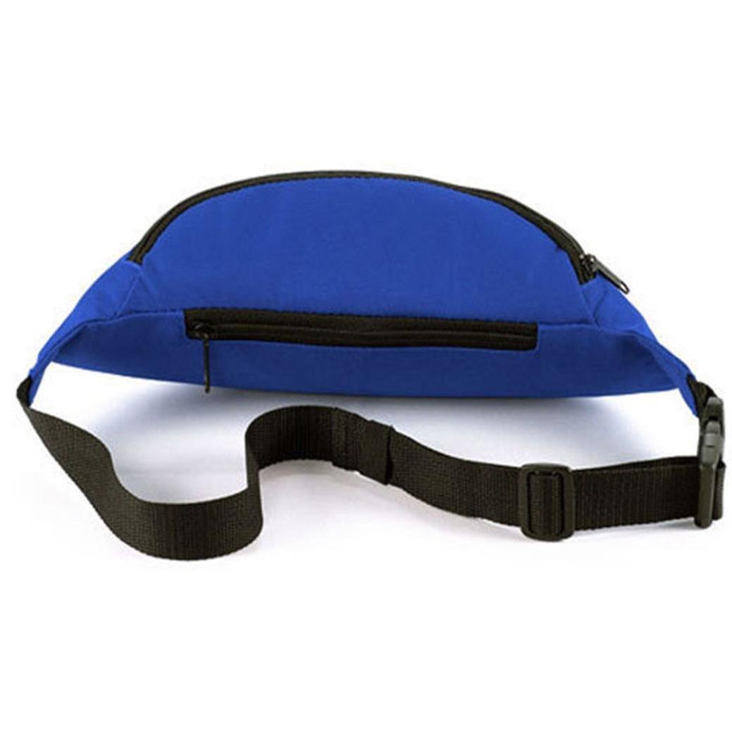 Waist Packs,Ruhiku Unisex Outdoor Sports Running Waist Bag Deep