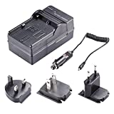 Neewer 4 In 1 Battery Charger Kit for Canon LP-E6 Battery with US/EU/UK Plug and Car Adapter for Battery Grip BG-E6, BG-E11, BG-E13, BG-E7, BG-E9, BG-E14 Canon EOS 5D Mark III, 5D Mark II, 6D, 7D, 70D, 60D, 60Da