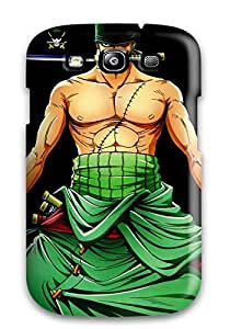 Galaxy S3 Zoro Print High Quality Tpu Gel Frame Case Cover