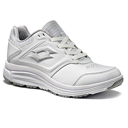 Zapatillas Mujer De Bianco Para Sintético Material Lotto silver UwHapqq
