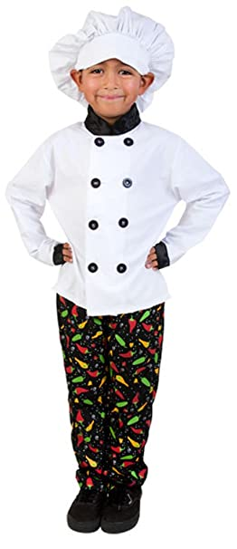 Amazon.com: Child Prep Chef Costume: Toys & Games