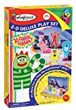 Colorforms 3D Deluxe Play Set Yo Gabba Gabba
