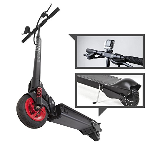 EcoReco M5 Electric Scooter - Black/Red - Multi M5 Led