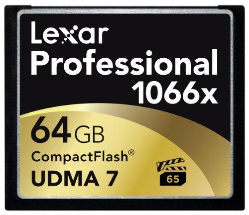 Lexar Professional 1066x 64GB CompactFlash card LCF64GCRBNA1