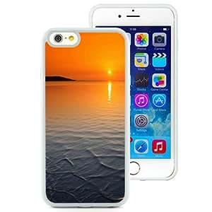 New Beautiful Custom Designed Cover Case For iPhone 6 4.7 Inch TPU With Orange Horizon Sunset (2) Phone Case