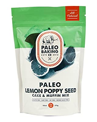 Paleo Baking Company Paleo Lemon Poppy Seed Cake & Muffin Mix