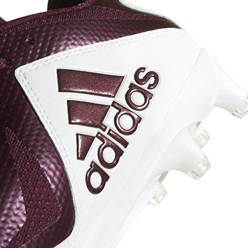 Adidas Heren Freak X Carbon Mid Voetbalschoen Wit-kastanjebruin
