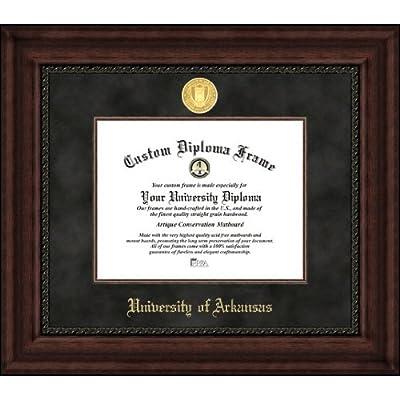 Image of Campus Images AR999EXM University of Arkansas Executive Diploma Frame, 8.5' x 11' Diploma Frames