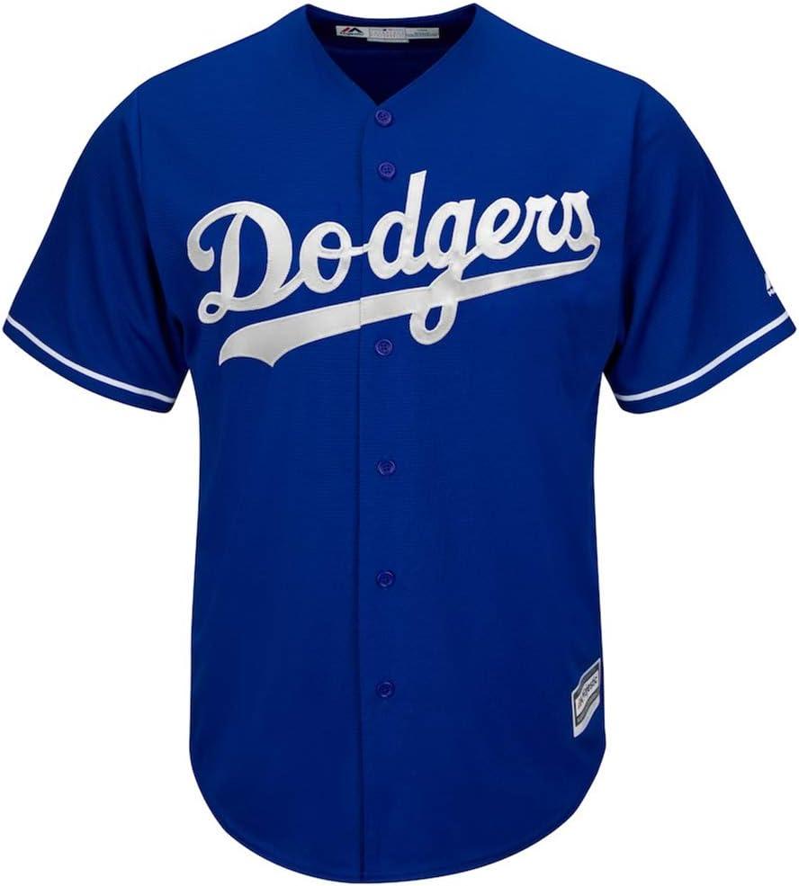 YQSB Maglietta T-Shirt Baseball League Los Angeles Dodgers