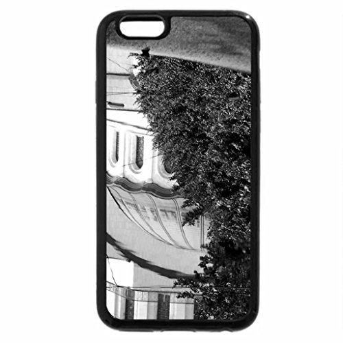 iPhone 6S Plus Case, iPhone 6 Plus Case (Black & White) - A puddle reflection