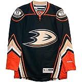 Anaheim Ducks 2015 Home Black Reebok Premier Big Size Jersey (XXXL)