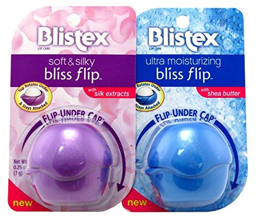 Blistex Bliss Flip 0.25 Ounce Shea Butter/Silk Extract