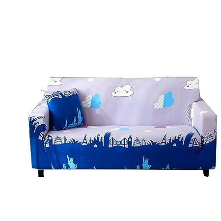 Powerful_y Funda para sofá de Alta Elasticidad, diseño Elegante ...