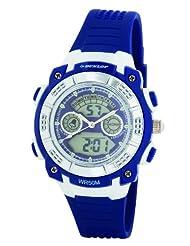 Dunlop DUN-244-L03 - Women's Watch, plastica, color: Blue