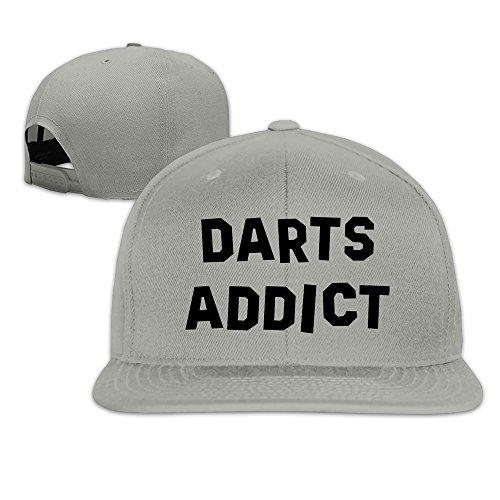 unisex-darts-addict-snapback-adjustable-caps-one-size-ash
