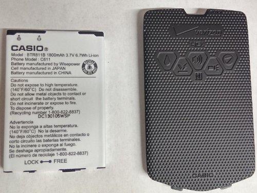Casio Commando 2 C811 4g LTE Standard Back - Casio 4g Phone Covers