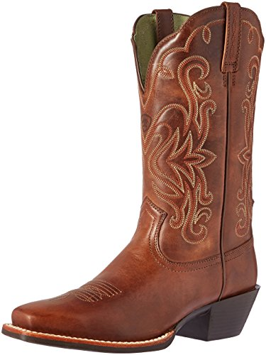 Ariat Women's Legend Western Cowboy Boot, Russet Rebel, 9 B US