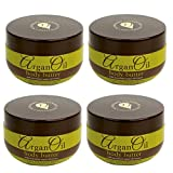 Argan Oil (4-Pack) Body Butter Moroccan Moisturizer Skin Cream 8.5 oz Anti-Aging Lotion Review
