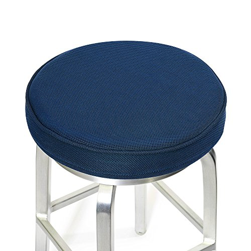 Shinnwa Bar Stool Cushions,Memory Foam Bar Stool Covers Round Cushion with Non-Slip Backing and Elastic Band 12