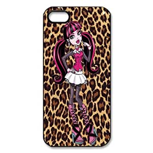 Customize Cartoon Game Monster High Back Cover Case for iphone 5 5S JN5S-2455 by ruishername