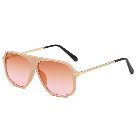 Mkulxina Gafas De Sol Redondas For Hombres Moda Vintage ...