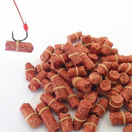 Fishing Carp Baits - 60-70 Pieces Red Smell Grass Carp Baits Coarse Fishing Baits Fishing Lures Accessories