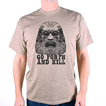 Amazon.com: Old Skool Hooligans Zardoz T-Shirt Go Forth ...
