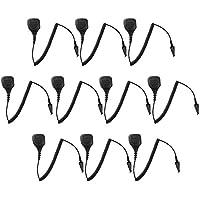 10 Pack Maxtop APM250-K3 IP56 Waterproof Shoulder Speaker Microphone for Kenwood NEXEDGE NX-200 NX-300 NX-410 NX-420