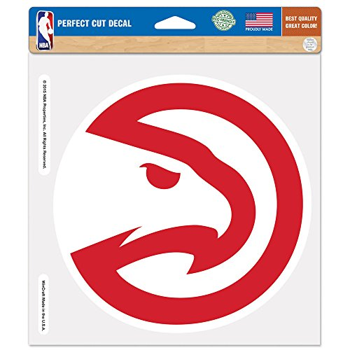 fan products of NBA Atlanta Hawks Perfect Cut Color Decal, 8