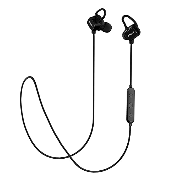 Mpow S3 Magnetic Bluetooth Headphones, IPX5 Waterproof Wireless Earbuds Sport Running Headphones Noise Cancelling Headsets