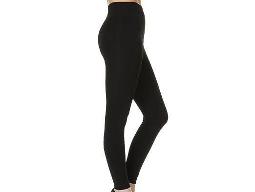 60cb0fb6dc9b0 Women's Cosy Winter Thick Thermal Winter Leggings Fleece Lined Super Soft  Leggings 1 Pair S/