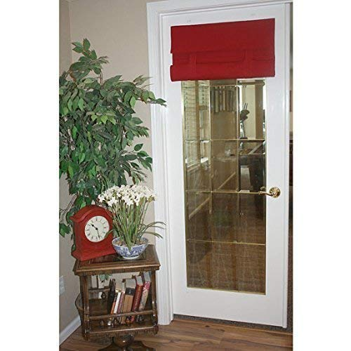 Red French Door Curtain 1 panel