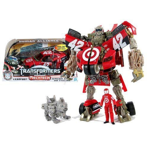 Transformers 3 Dark of the Moon Exclusive Human Alliance Leadfoot with Sergeant Detour Steeljaw by Hasbro