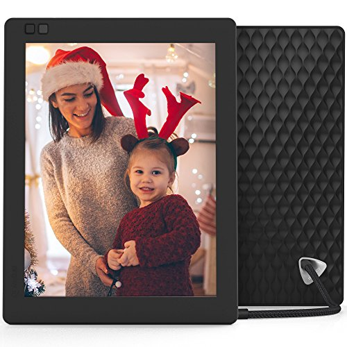 Nixplay Seed 10 Inch WiFi Cloud Digital Photo Frame with IPS Display, iPhone & Android App, Free 10GB Online Storage and Motion Sensor (Black) by nixplay