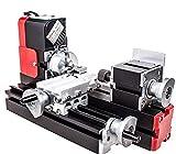 Metal Lathe - chuangsheng Mini Lathe Machine,12V Miniature Metal Multifunction Lathe Machine DIY 20000Rev/min 45135mm