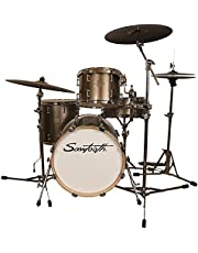 Sawtooth Command - Juego de 4 tambores con batería de 45,7 cm