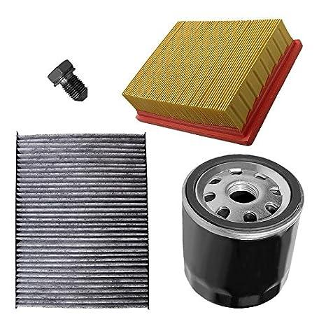 Paquete para inspección: 1x Filtro de aire 1x Filtro de habitáculo (Filtro antipolen)