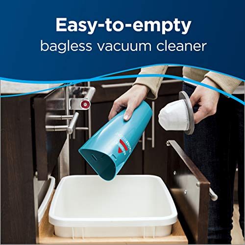 Bissell Featherweight Stick Lightweight Bagless Vacuum, 2033, One Size Fits All, Blue